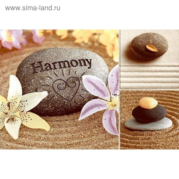 Вставка керамическая 30х20см Гармония бежевый 06-01-11-732