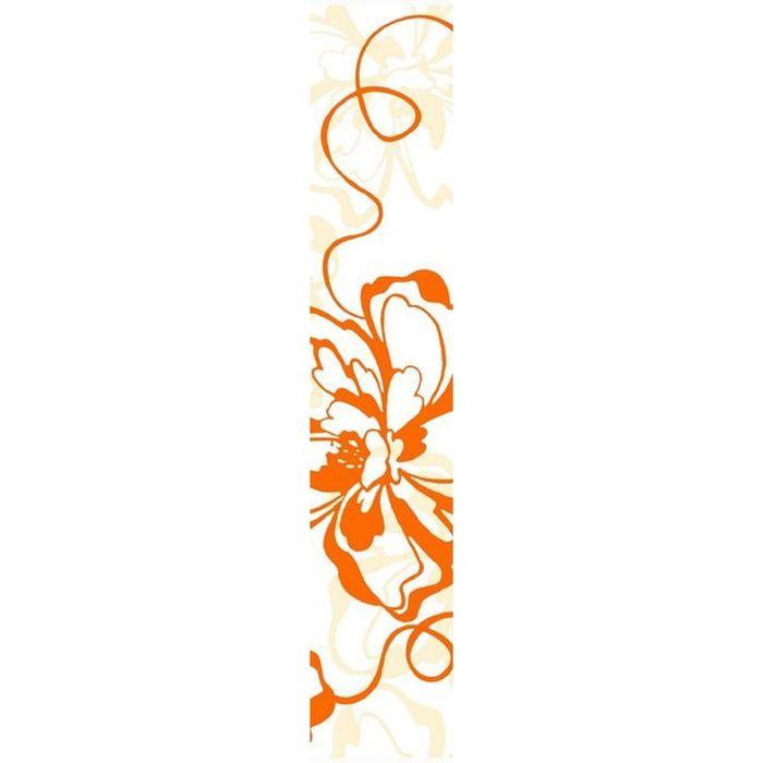 Бордюр 40х7,5см Кураж-2 оранжевый Монро оранжевый 76-00-35-050