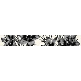 Бордюр 40х5см Piano черный 56-03-04-081