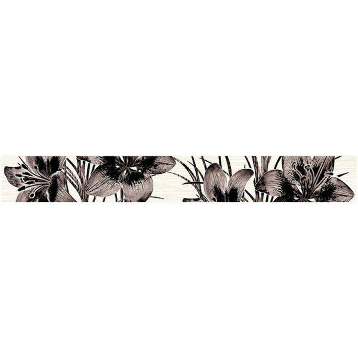 Бордюр 40х5см Piano коричневый 56-03-15-081