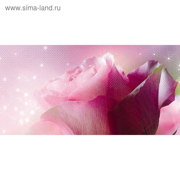 Декор 50х25см Арома розовый Ланком 10-05-41-619-1