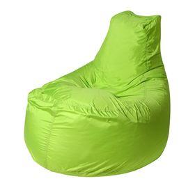 Кресло - мешок «Банан», диаметр 90 см, высота 100 см, цвет зелёный