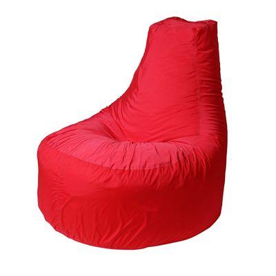 Кресло - мешок «Банан», диаметр 90 см, высота 100 см, цвет красный