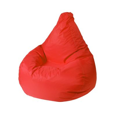 Кресло - мешок «Капля S», диметр 85 см, высота 130 см, цвет красны