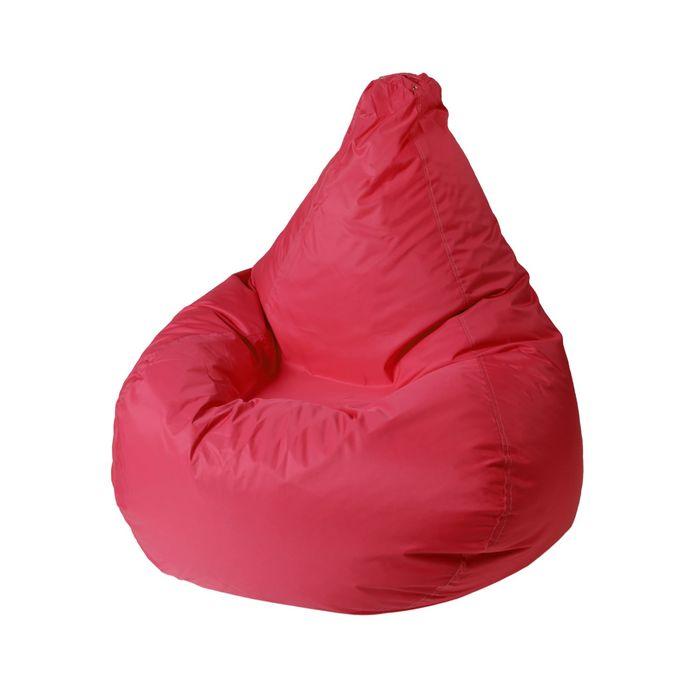 Кресло - мешок «Капля S», диметр 85 см, высота 130 см, цвет вишня
