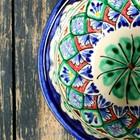 Пиала большая Риштанская Керамика, 0.2 л, 11.5см МИКС - Фото 11