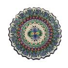 Тарелка плоская рифленая Риштанская Керамика 15см - Фото 4