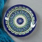 Тарелка плоская Риштанская Керамика 15,5см МИКС - Фото 2