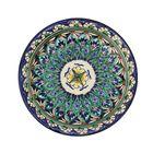 Тарелка плоская Риштанская Керамика 15,5см МИКС - Фото 3
