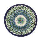 Тарелка плоская Риштанская Керамика 15,5см МИКС - Фото 4