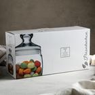 Набор банок для сыпучих продуктов Cesni, 500 мл, 3 шт - Фото 3
