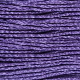 Нитки мулине, 8 ± 1 м, цвет ярко-фиолетовый №3746 Ош