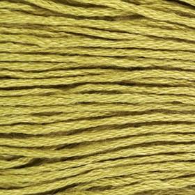 Нитки мулине, 8 ± 1 м, цвет светло-оливковый №3348 Ош