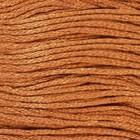 Нитки мулине, 8 ± 1 м, цвет песочный №435