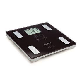 Весы напольные Omron BF-214, электронные, диагностические, до 150 кг, чёрные