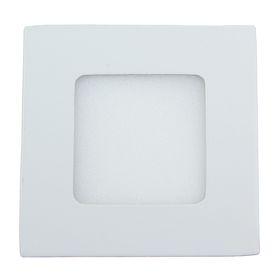 Панель квадратная встраиваемая 3 Вт, 6500 К, 210 Лм, 120°, 15 LED 2835, 160-260 В , 85х85 мм Ош
