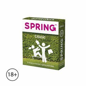 Презервативы Spring Classic «Классические», 3 шт. Ош