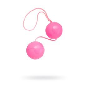 Вагинальные шарики Toyfa, ABS пластик, цвет розовые, 20,5 см, d=3 см Ош