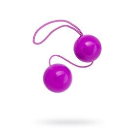 Вагинальные шарики Toyfa, ABS пластик, фиолетовый, 20,5 см, d=3 см Ош