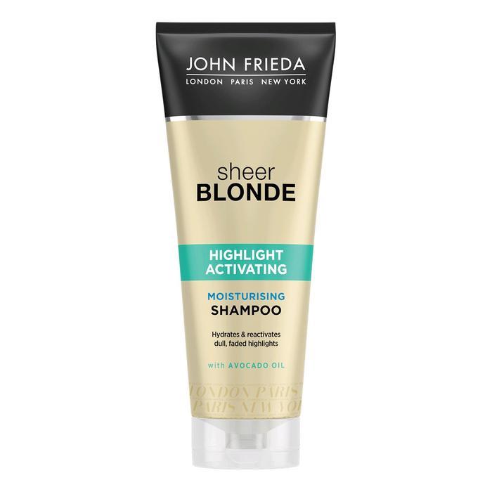 Увлажняющий активирующий шампунь для светлых волос John Frieda Sheer Blonde, 250 мл