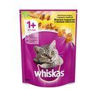 Сухой корм Whiskas для кошек, курица/индейка, подушечки, 800 г