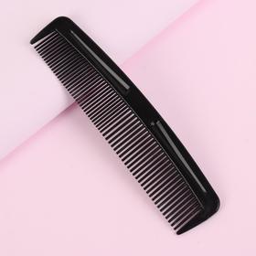 купить Расчёска комбинированная, 12 3 см, цвет чёрный