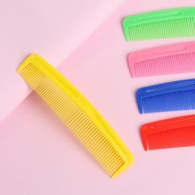 Расчёска комбинированная, цвет МИКС Ош