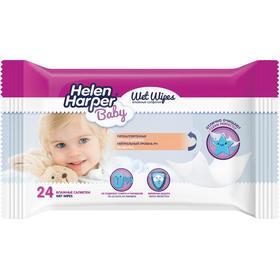 Детские влажные салфетки Helen Harper Baby, 24 шт.