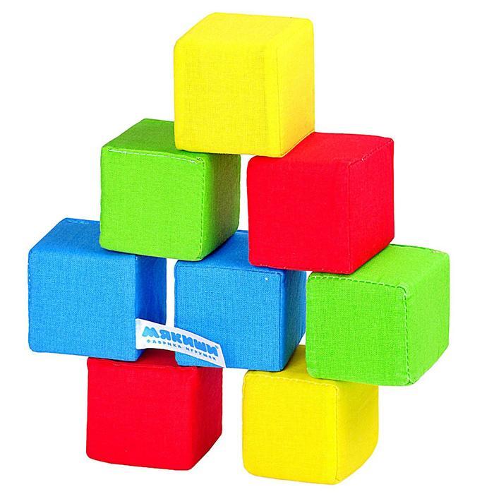 Набор мягких кубиков «4 цвета»