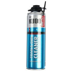 Очиститель монтажной пены Kudo KUP-Н-06C Home Foam & Gun Cleaner, 650 мл, 400 г Ош