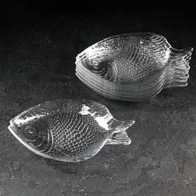 Набор блюд Paşabahçe «Рыба. Marine», 19,8х15,8 см, 6 шт