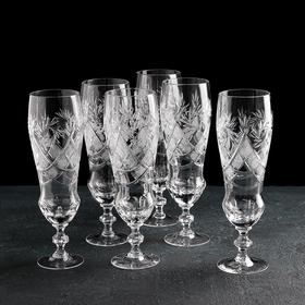 Набор бокалов для пива «Мельница», 350 мл, 6 шт