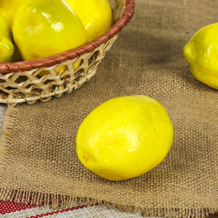 Муляж лимон 10см