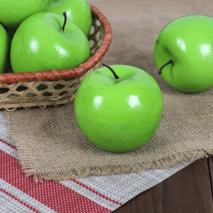 Муляж яблоко зеленое 8см