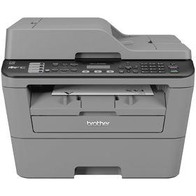 МФУ, лазерная черно-белая печать Brother MFC-L2700DNR, А4, Duplex, LAN Ош