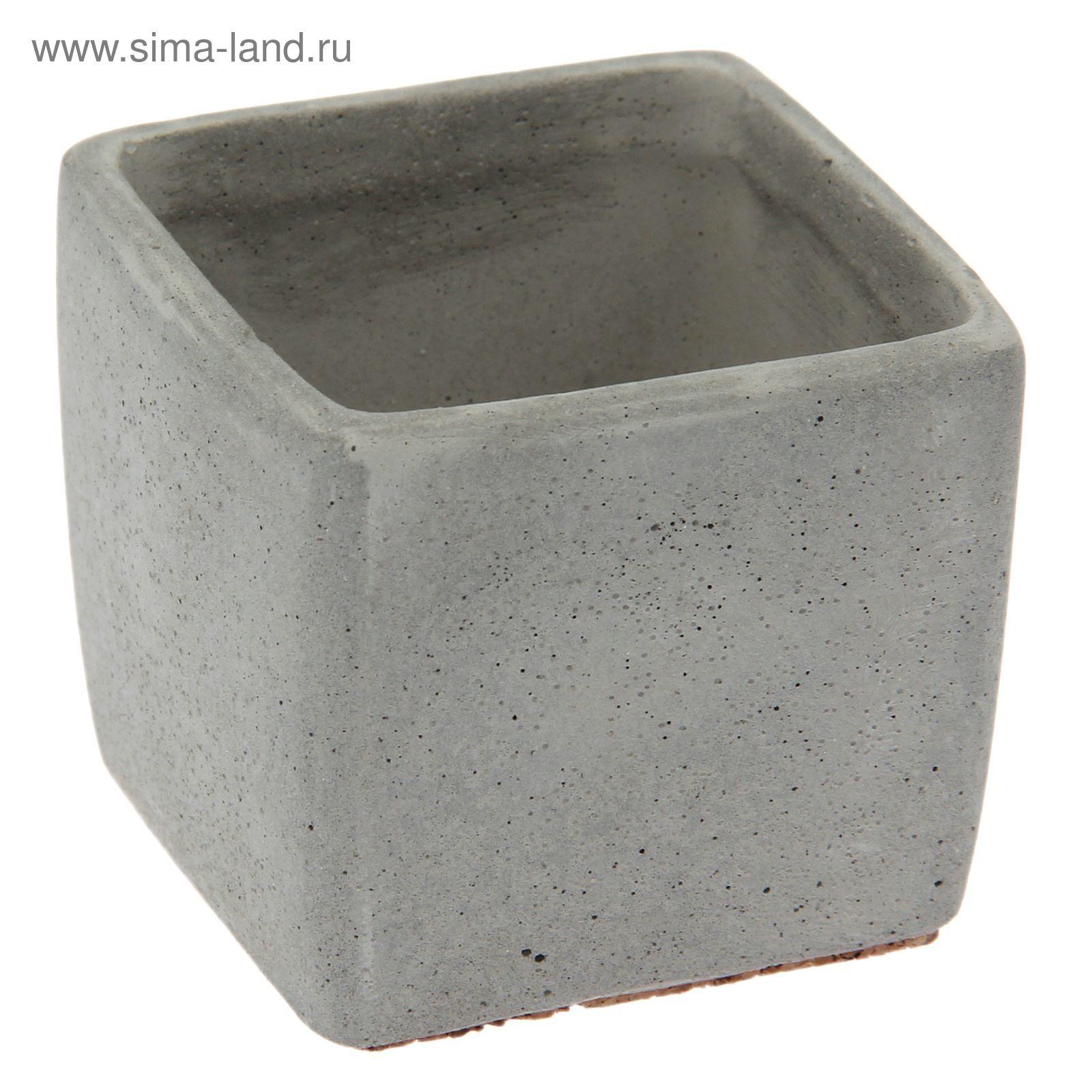 Кашпо из бетона купить цена раствор цементный отличие от бетона