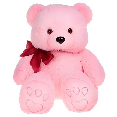 Мягкая игрушка «Медведь Эдди», цвет розовый