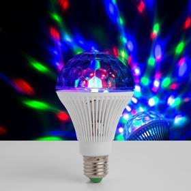Лампа хрустальный шар диаметр 8 см., 220V, цоколь Е27 Ош
