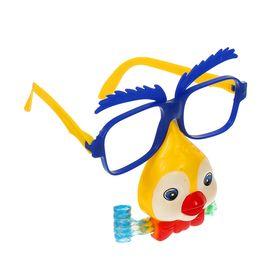 Карнавальные очки «Птичка», с носом и язычком, цвета МИКС Ош