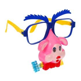 Карнавальные очки «Собачка», с носом и язычком, цвета МИКС Ош