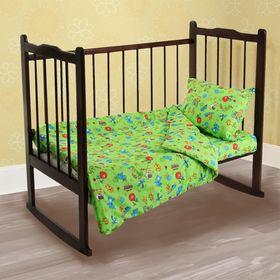 Детское постельное бельё Galtex «Зоопарк», 147х112 см, 60х120 см, 40х60 см -1 шт