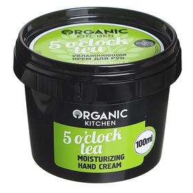 Крем для рук Organic Kitchen 5 o'clock tea, увлажняющий, 100 мл