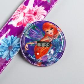 Часы наручные электронные 'Феи Винкс: Блум', 22,5 х 4,5 см Ош