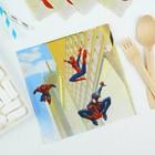 Салфетки бумажные «Человек-Паук», 33х33 см, набор 20 шт. - Фото 2