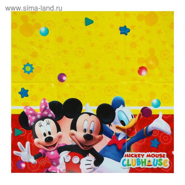 """Скатерть 120*180 см """"Игривый Микки Маус"""" / Playful Mickey  81511"""