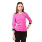 Джемпер женский, цвет розовый, рост 158-164 см, размер 42