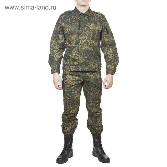 Костюм летний МПА-24 (Спецназ) КМФ зеленая цифра тк. Мираж 46/4