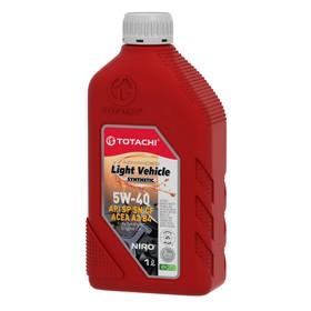Масло моторное  Totachi NIRO LV Синт SN/CF 5W-40, 1 л