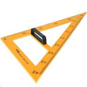 Треугольник для школьной доски, с держателем, прямоугольный, 30° Ош