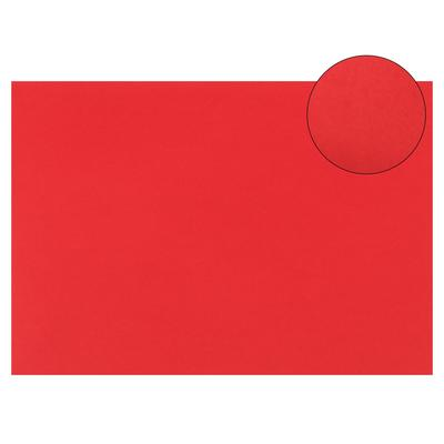 Картон цветной, 210 х 297 мм, Sadipal Sirio, 1 лист, 170 г/м2, красный - Фото 1